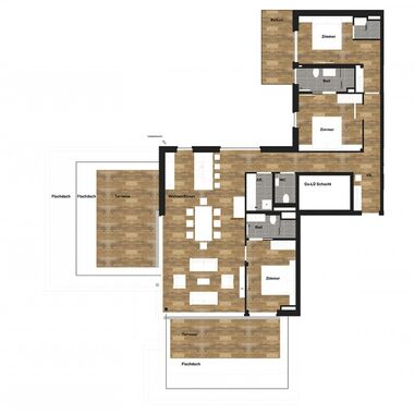 4 Raum Penthouse Deluxe